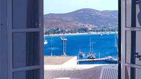 Sea View Rooms in Serifos
