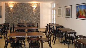 Breakfast Room of Naias Hotel in Serifos
