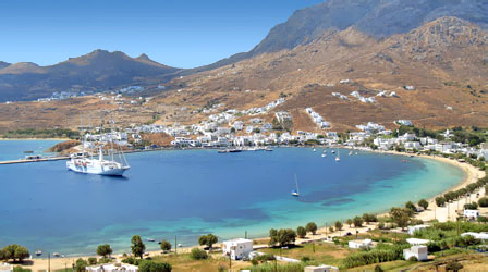 Livadi - Port of Serifos Island